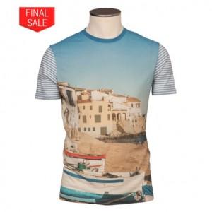 Altea Printed T-Shirt Beach Village
