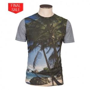 Altea Printed T-Shirt Palm Trees