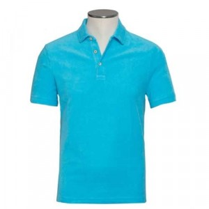"Altea Polo ""Terry"" Aqua Blue"