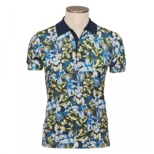 Altea Knitted Polo Flower