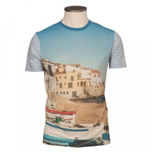 Altea Printed T-Shirt Beach Village