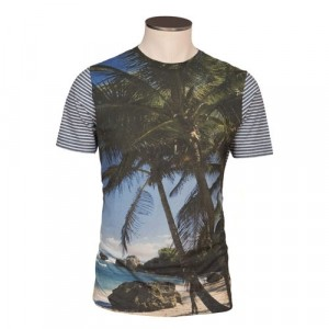 Altea Printed T-Shirt Palm Trees