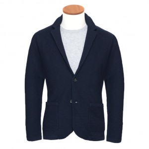 Altea Knitted Jacket Navy
