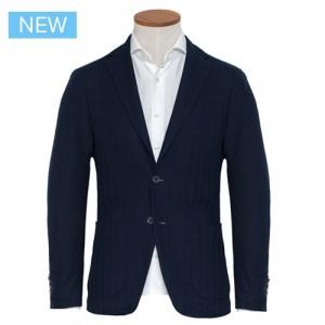 Altea Jacket Herringbone Blue