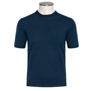 Altea Linen-Cotton Tee Blue