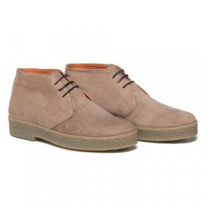 Andrea Ventura Lace-Up Boot Sand