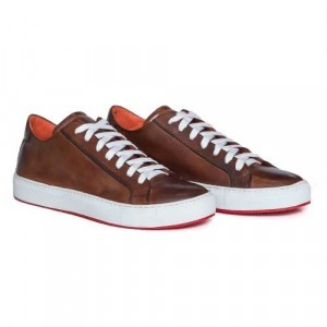 "Andrea Ventura Sneaker ""Anticato"" Brown Calf"