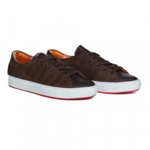Andrea Ventura Sneaker Brown Leather-Suede