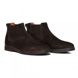 "Andrea Ventura Chelsea Boot ""Beatle"" Brown"