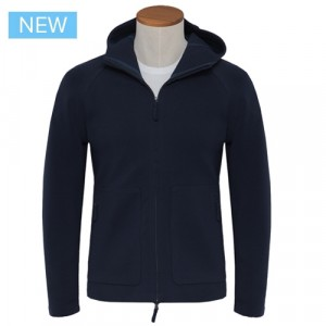 Aspesi Zip-up Hoody Blue