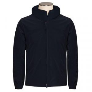 Aspesi Freccia Summer Coat Black-Blue