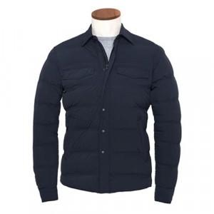 Aspesi Pioggia Elastica Jacket Blue