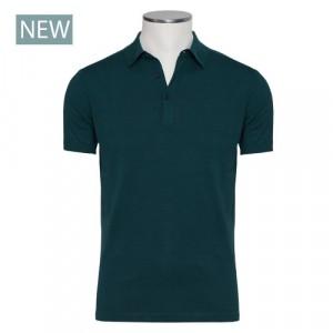 Aspesi Polo Short Sleeve Green