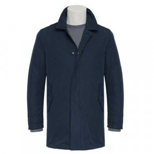 Aspesi Raincoat Insolito Blue