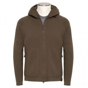 Aspesi Zip-Up Hoody Green