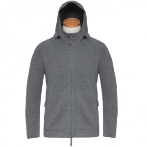 Aspesi Zip-up Hoody Grey