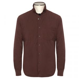 """Aspesi Overshirt """"Alvaro-Wool"""" Burgundy"""