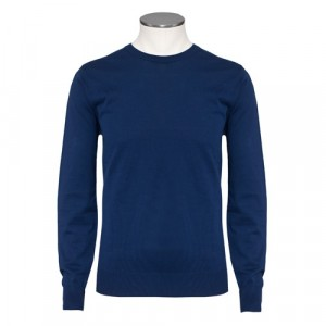 Aspesi Crewneck Long Sleeve Blue