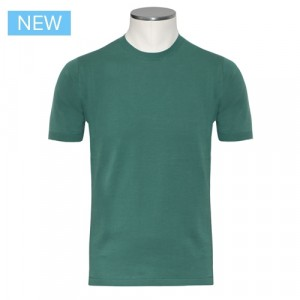 Aspesi Knitted T-Shirt Green