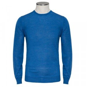 Aspesi Crewneck Wool Light Blue