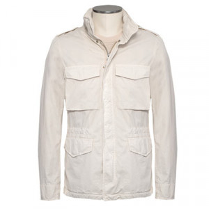 Aspesi Field Jacket Cotton Off-white