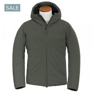 "Aspesi Down Jacket ""Freccia"" Green"
