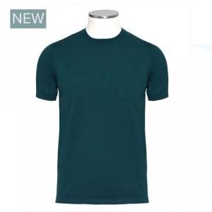 Aspesi Crewneck Short Sleeve Green