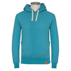Aspesi Hooded Sweatshirt Aqua