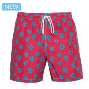 Aspesi Swim Trunk Stromboli Red