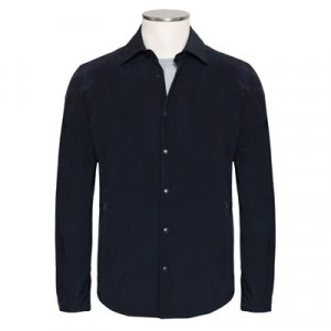 "Aspesi Shirt Jacket ""Ultra"" Black-Blue"