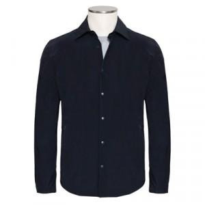 "Aspesi Shirt Jacket ""Ultra"" Black Blue"