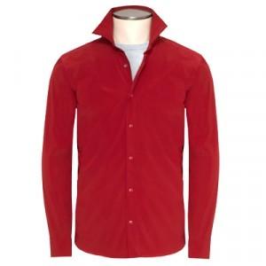 "Aspesi Shirt Jacket ""Ultra"" Red"