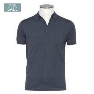 Aspesi Polo Short Sleeve Grey