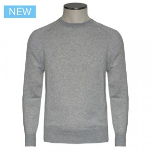 Aspesi Crewneck Cotton Fantasy Grey