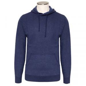 Aspesi Hoodie Wool Blue-Grey