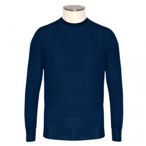 Aspesi Crewneck Wool Royal Blue