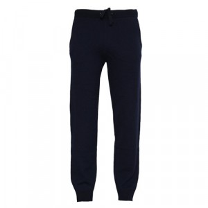 Aspesi Knit Jogg-Pants Wool Blue