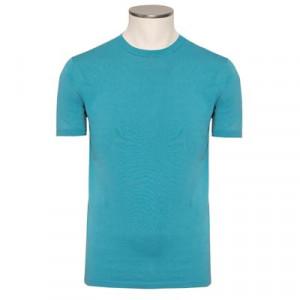 Aspesi Crewneck Short Sleeve Aqua