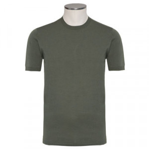 Aspesi Crewneck Short Sleeve Olive Green