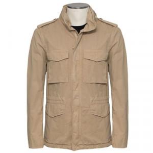 Aspesi Field Jacket Cotton Sand