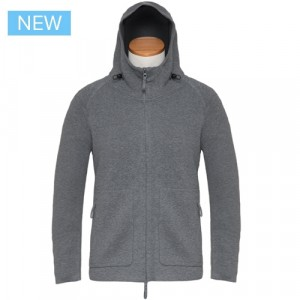 Aspesi Zip-up Hoody Grey