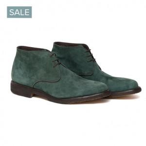 Andrea Ventura Shoes Suede Green