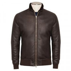 Barba Napoli Bomber Lammy Brown