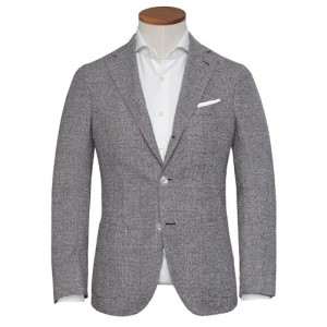 Barba Napoli Jacket Check Sand