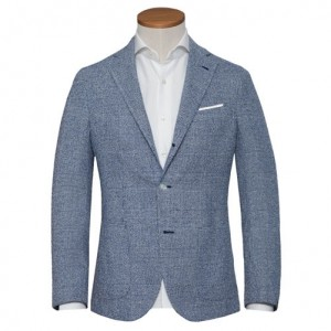 Barba Napoli Jacket Check Blue