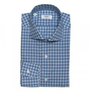 Barba Napoli Shirt Blue Check