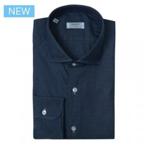 Barba Napoli Shirt Dark Blue