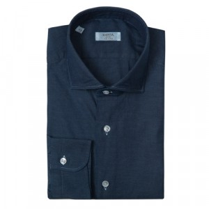 Barba Napoli Shirt Dark Blue