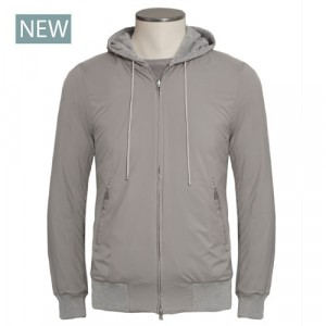 Barba Napoli Reversible Hoody Grey