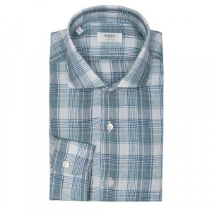 Barba Napoli Shirt Green Check